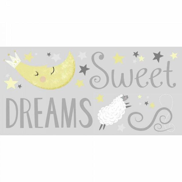 Παιδικά Αυτοκόλλητα Τοίχου RoomMates Sweet Dreams RΜΚ3700
