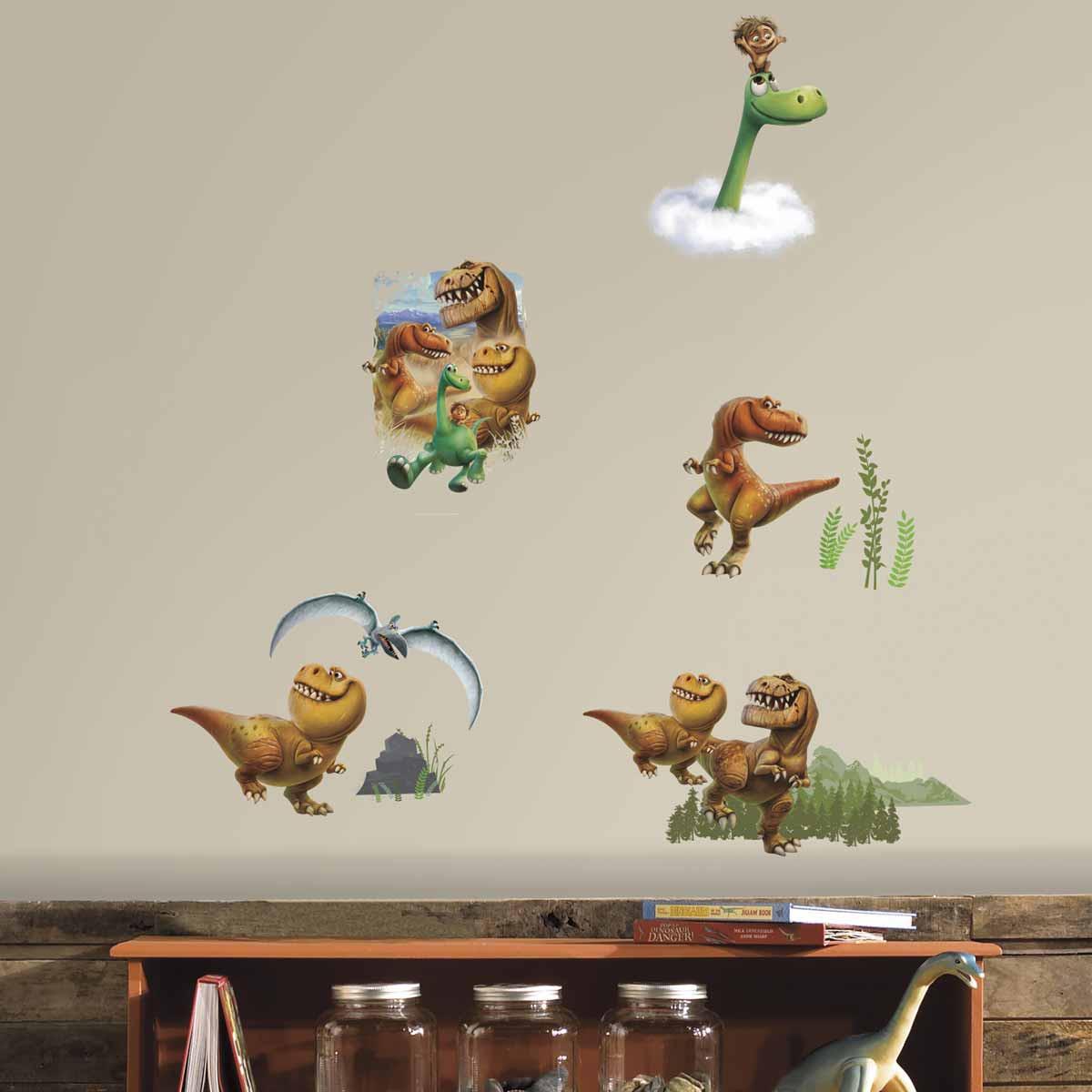 Παιδικά Αυτοκόλλητα Τοίχου RoomMates Δεινόσαυροι RΜΚ3008