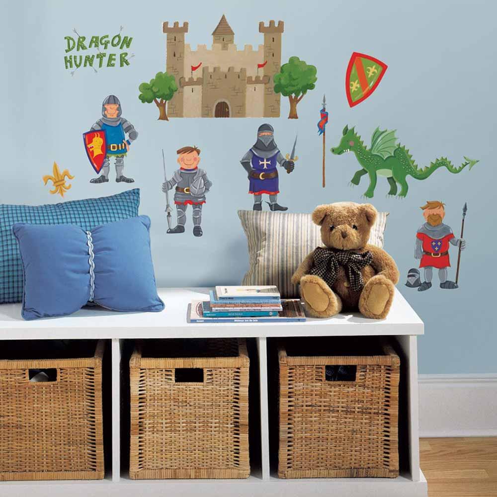 Παιδικά Αυτοκόλλητα Τοίχου RoomMates Κάστρο Ιπποτών RΜΚ1267