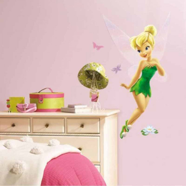 Παιδικό Αυτοκόλλητο Τοίχου RoomMates TinkerBell RΜΚ1494