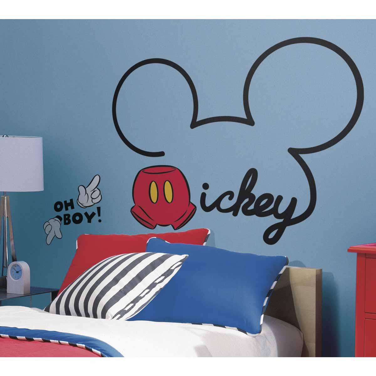Παιδικό Αυτοκόλλητο Τοίχου RoomMates Mickey Mouse RΜΚ2560