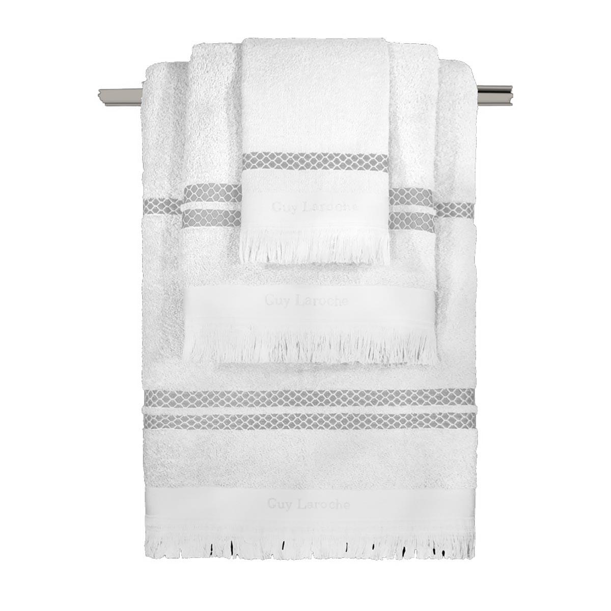 Πετσέτες Μπάνιου (Σετ 3τμχ) Guy Laroche Parma White