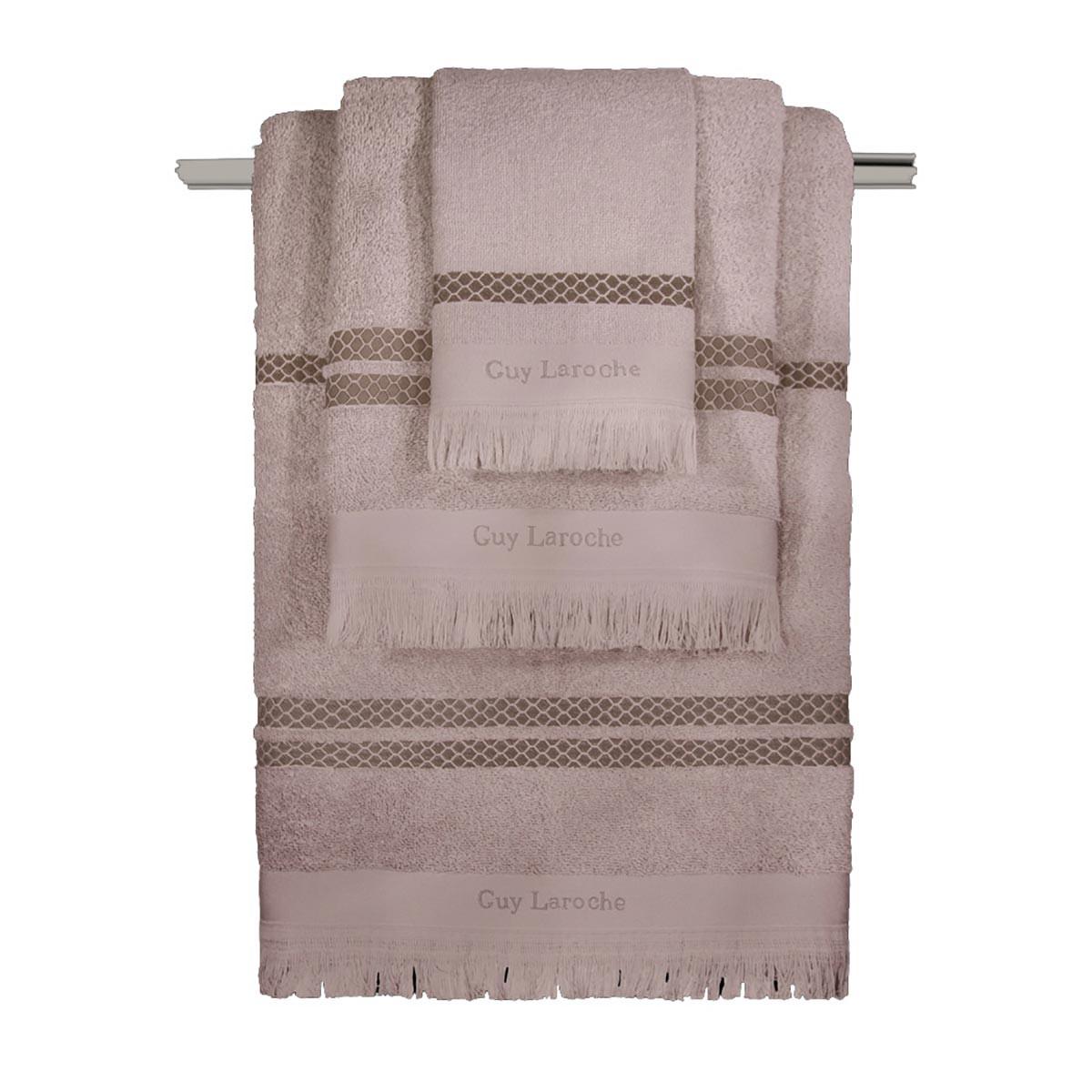 Πετσέτες Μπάνιου (Σετ 3τμχ) Guy Laroche Parma Pudra