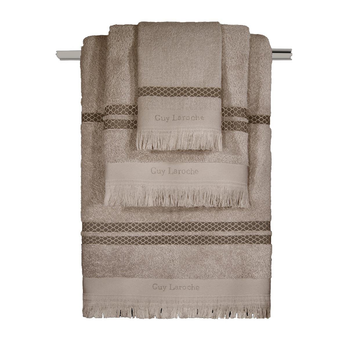 Πετσέτες Μπάνιου (Σετ 3τμχ) Guy Laroche Parma Natural