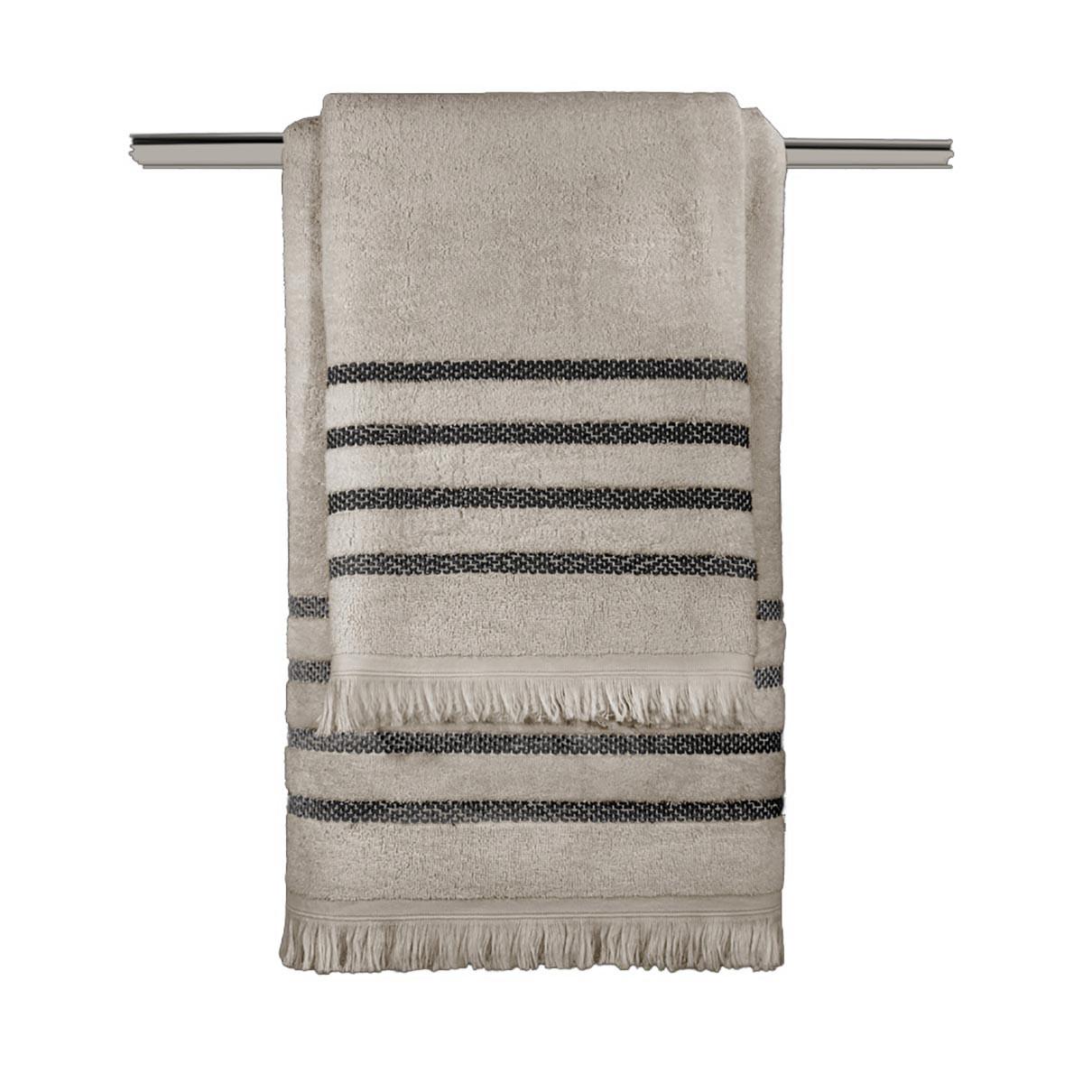 Πετσέτες Μπάνιου (Σετ 3τμχ) Guy Laroche Fabiana Wenge