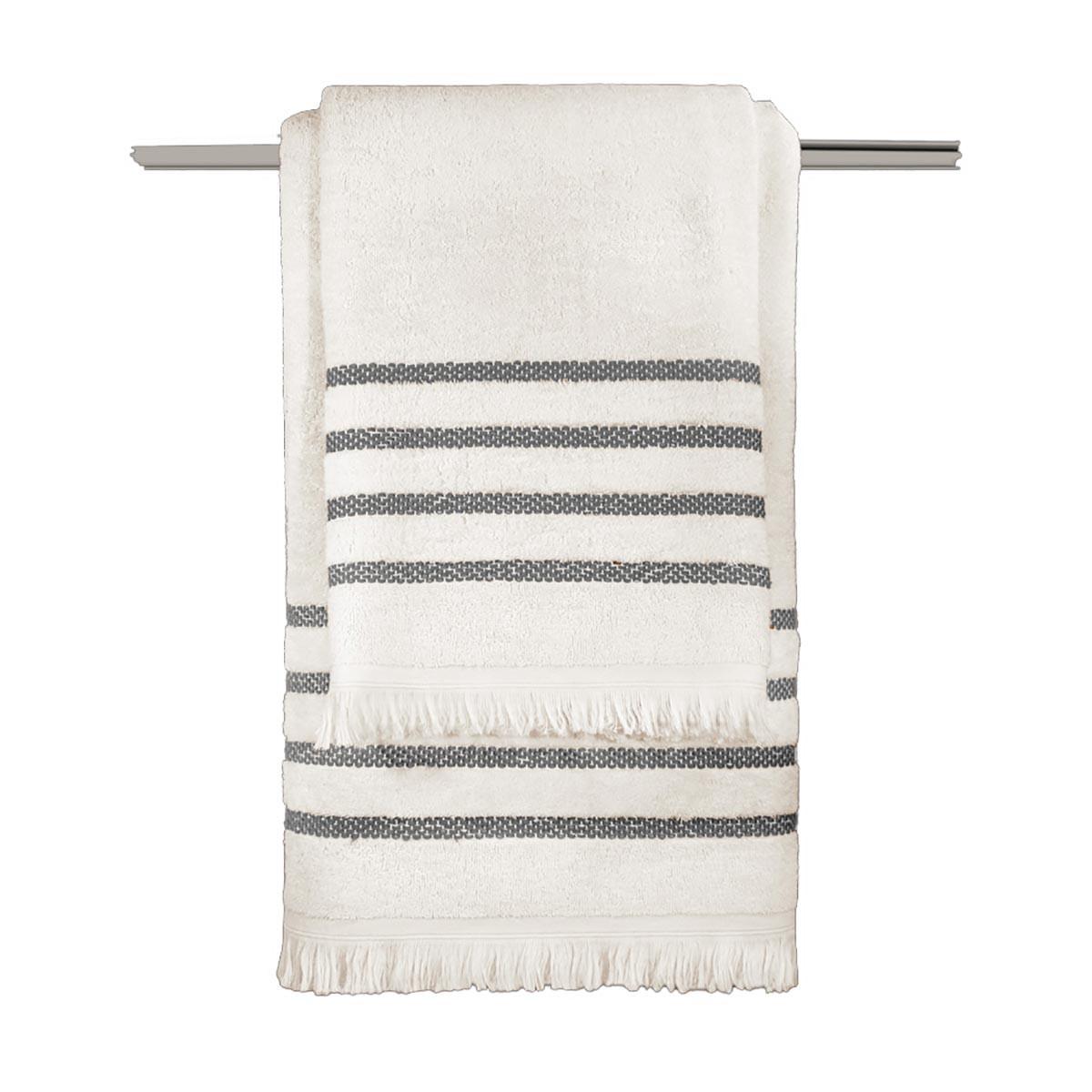 Πετσέτες Μπάνιου (Σετ 3τμχ) Guy Laroche Fabiana Cream