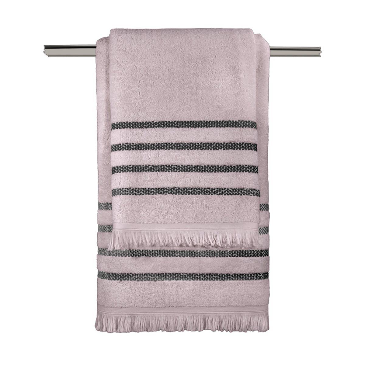 Πετσέτες Μπάνιου (Σετ 3τμχ) Guy Laroche Fabiana Amethyst