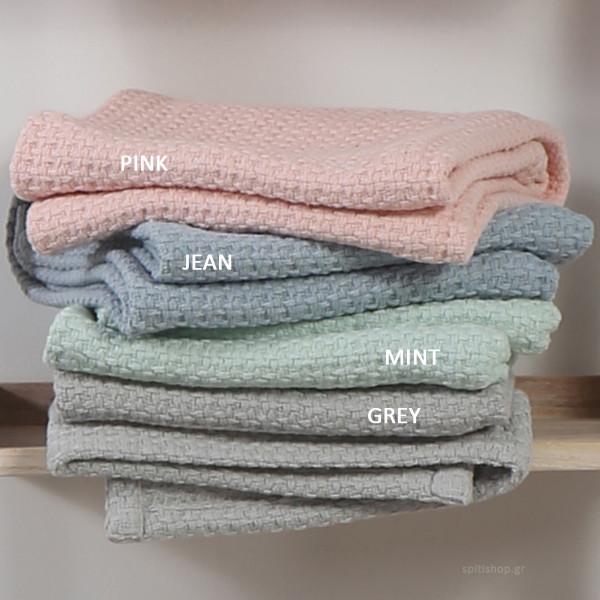 Κουβέρτα Πλεκτή Κούνιας Nef-Nef Baby Miracle