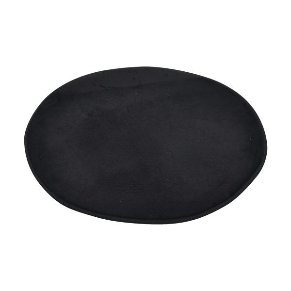 Πατάκι Μπάνιου (Φ60) Round Black 6GMB270NR