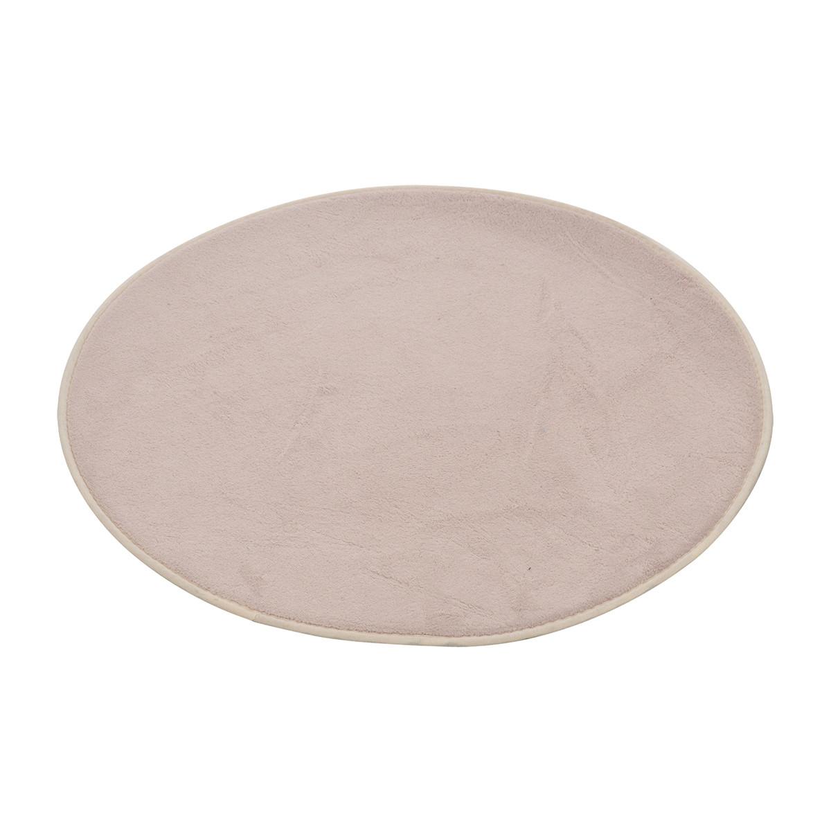 Πατάκι Μπάνιου (Φ60) L-C Round Taupe 6GMB270TA