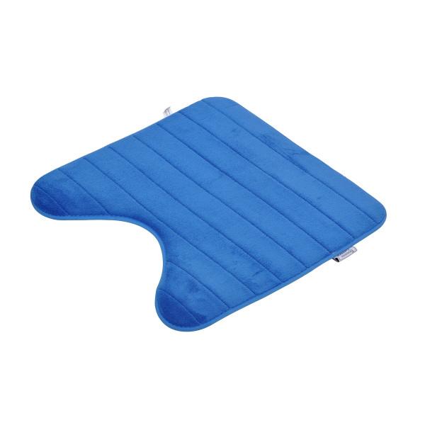 Πατάκι Λεκάνης (45x45) L-C Vitamine Stripes Blue 6GMB335BF