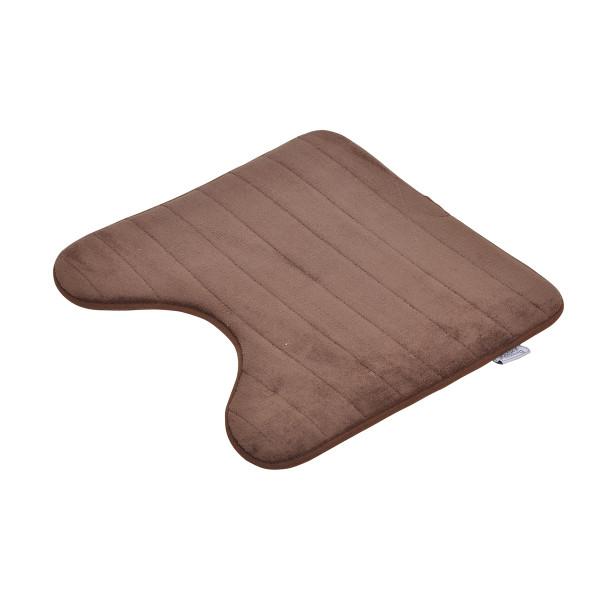 Πατάκι Λεκάνης (45x45) Vitamine Stripes Chocolat 6GMB335CH