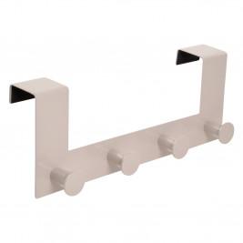 Κρεμάστρα Πόρτας 4 Θέσεων Metal Taupe 6PTE141TA