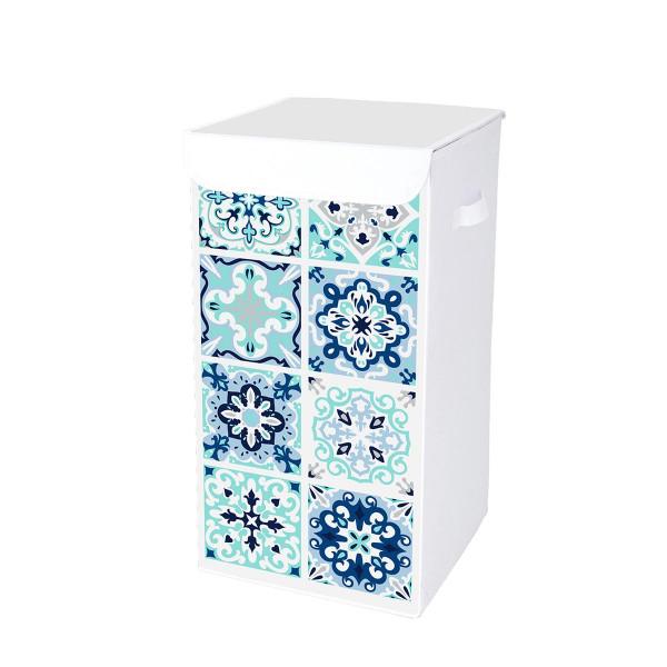 Καλάθι Απλύτων (30x30x60) 54L Tiles 6GMB437
