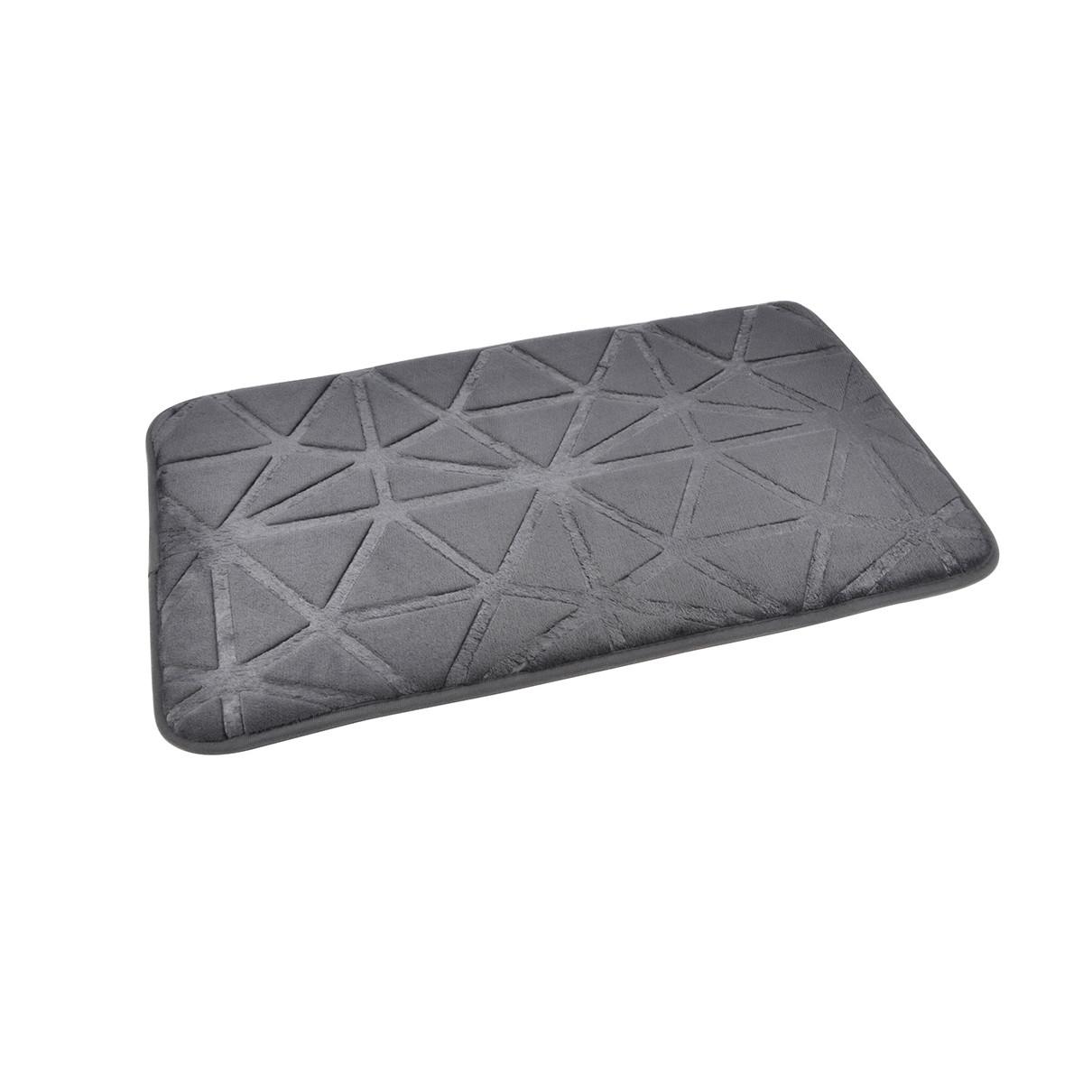 Πατάκι Μπάνιου (45×75) L-C Origami Anthracite 6GMB450GR