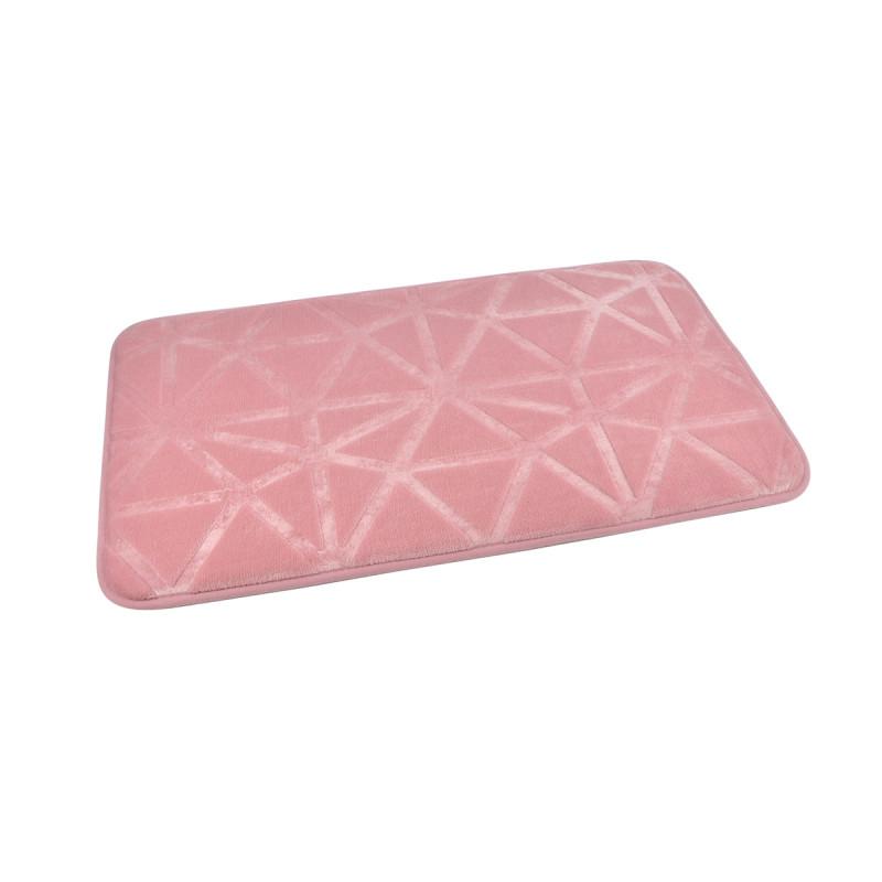 Πατάκι Μπάνιου (45x75) L-C Origami Rose Poudre 6GMB450RS