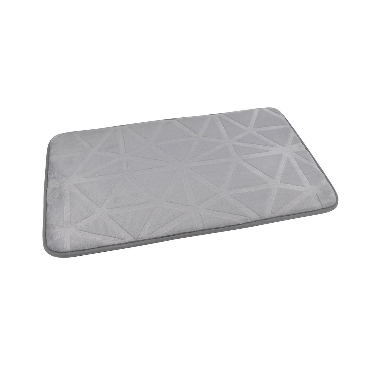 Πατάκι Μπάνιου (45×75) Origami L.Grey 6GMB450GC