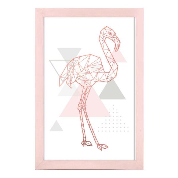 Κάδρο/Κορνίζα Blush Pink Flamingo 6CAD058RS