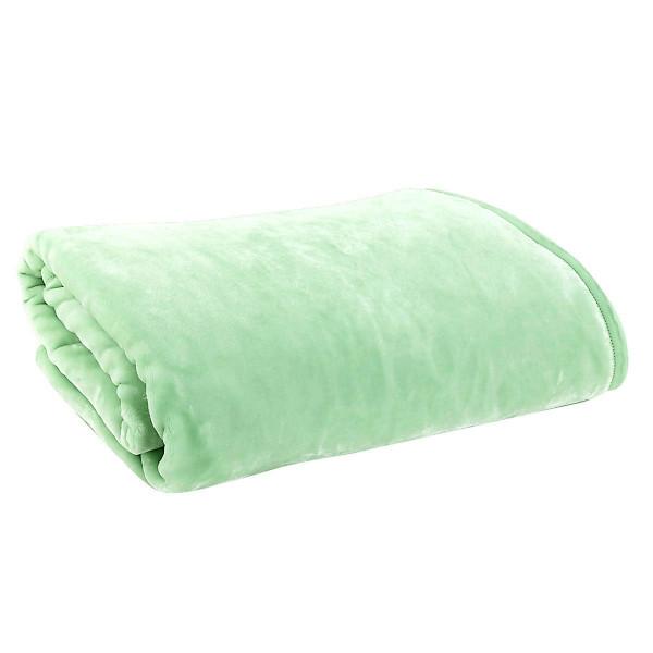 Κουβέρτα Βελουτέ Μονή Nef-Nef Loft Green