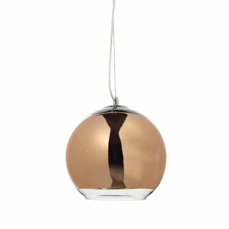 Φωτιστικό Οροφής Μονόφωτο Aca OYD6042BCG Copper/Gold