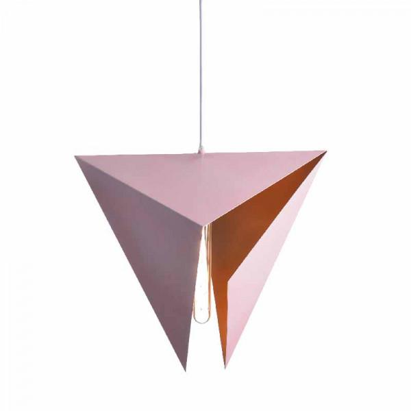 Φωτιστικό Οροφής Μονόφωτο Aca AD8038PG Pink