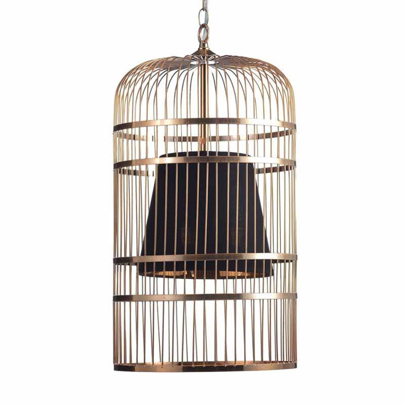 Φωτιστικό Οροφής Τρίφωτο Aca Hector AD80393P Brass