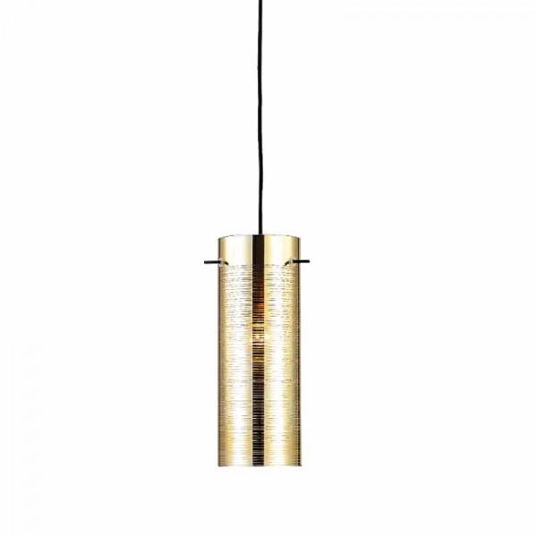 Φωτιστικό Οροφής Μονόφωτο Aca Vertigo DLA12591PB Brass