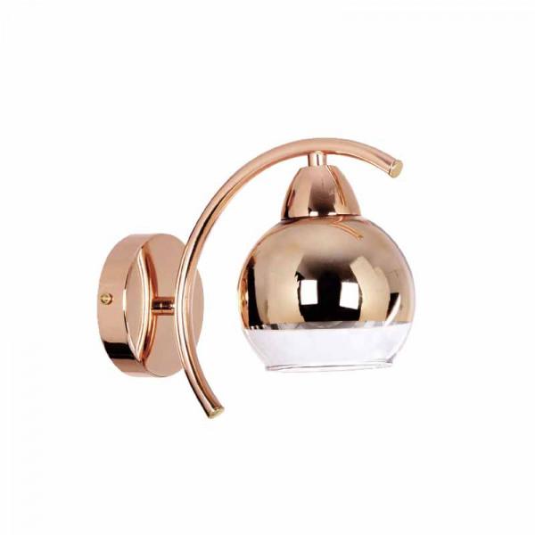 Απλίκα Τοίχου Aca TNK81444CG1W Copper/Gold
