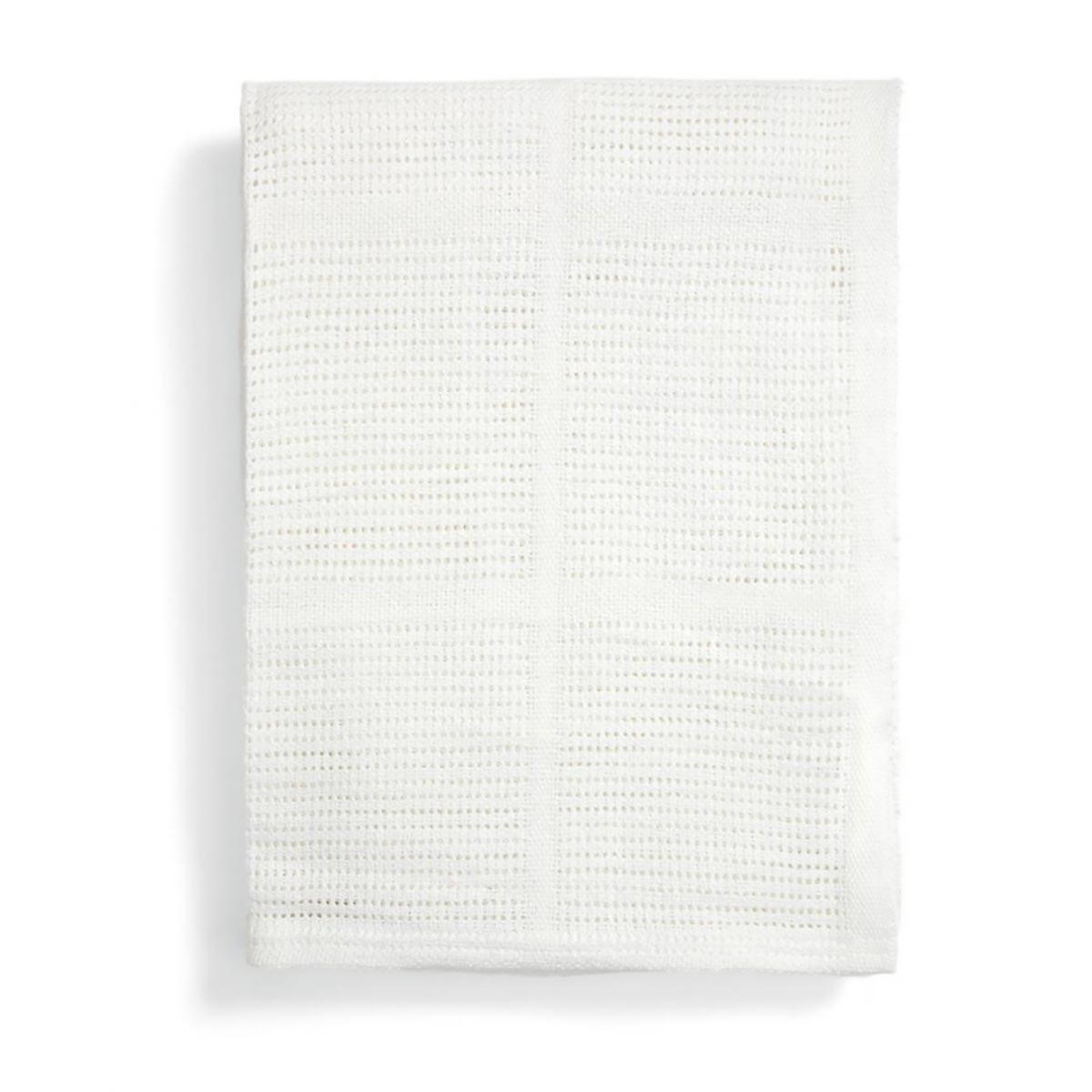 Κουβέρτα Πικέ Αγκαλιάς Mamas & Papas White 9180152