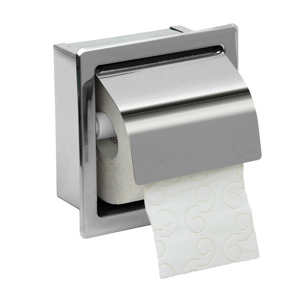 Χαρτοθήκη Με Καπάκι PamCo 109-001 Inox