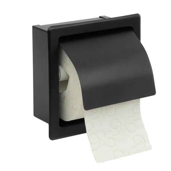 Χαρτοθήκη Με Καπάκι PamCo 109-403 Black Matte