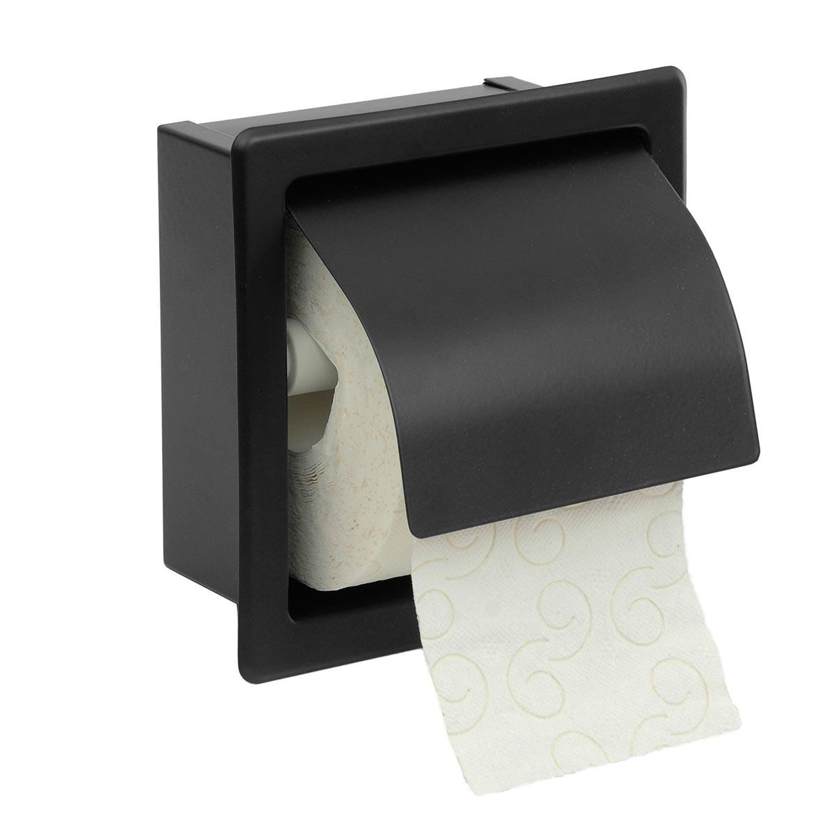 Χαρτοθήκη Με Καπάκι PamCo 109-403 Black Matt