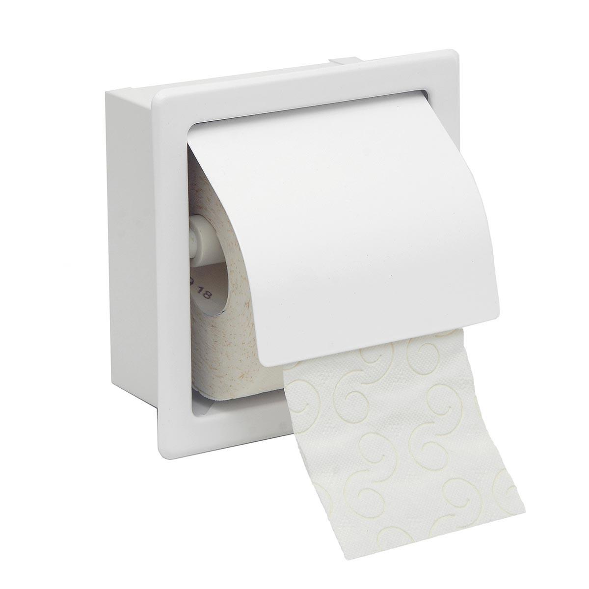 Χαρτοθήκη Με Καπάκι PamCo 109-033 White Matt
