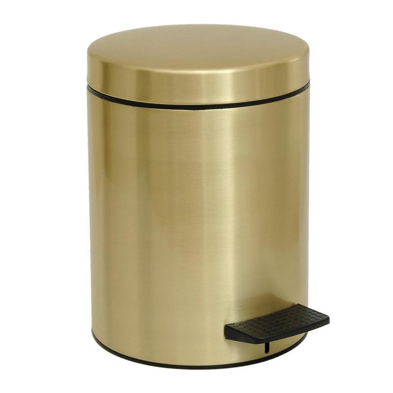 Κάδος Απορριμμάτων (20x28) Pam & Co 5Lit 96 Brushed Brass
