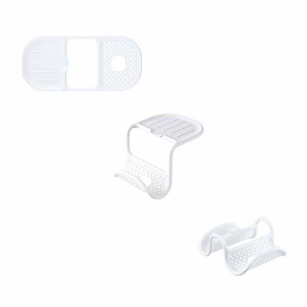 Θήκη 2 Θέσεων Για Σφουγγάρι/Βουρτσάκι Umbra Sling White 1012330-660