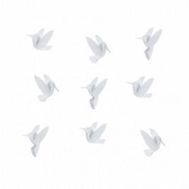 Αυτοκόλλητα Τοίχου Umbra Humming Bird White 1012966-660