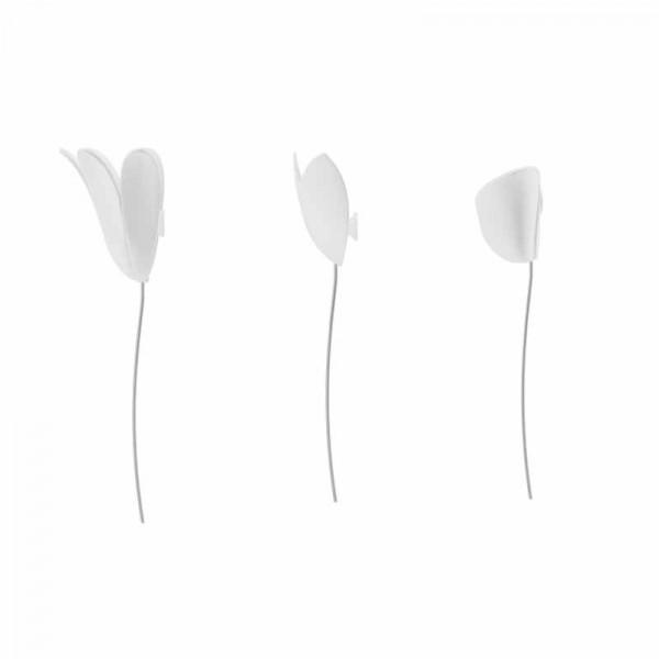 Αυτοκόλλητα Τοίχου Umbra Bloomer White 1012968-660