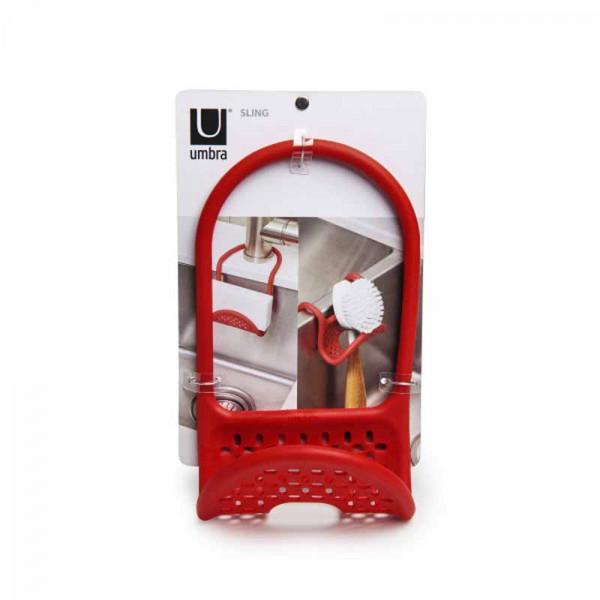 Θήκη Για Σφουγγάρι/Βουρτσάκι Umbra Sling Red 1004294-505