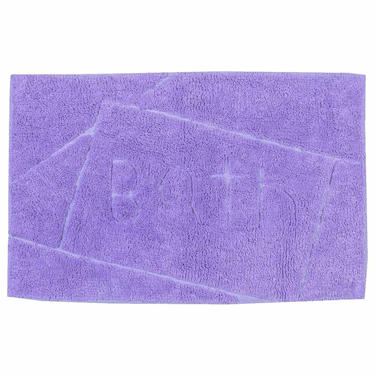 Πατάκι Μπάνιου (50×80) εstia Bath Purple 02-4163