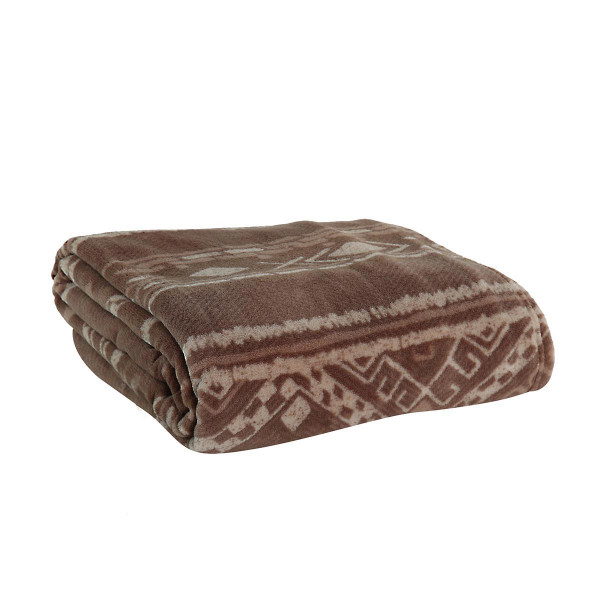 Κουβέρτα Fleece Μονή Nef-Nef Ganna Taupe