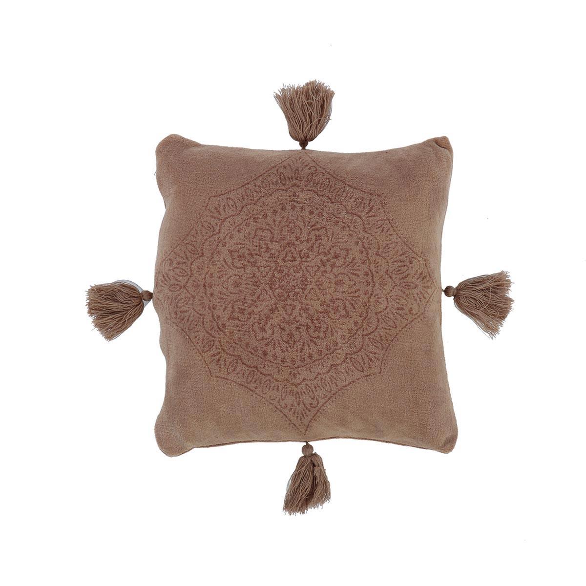 Διακοσμητικό Μαξιλάρι Fleece (45×45) Nef-Nef Ava Beige