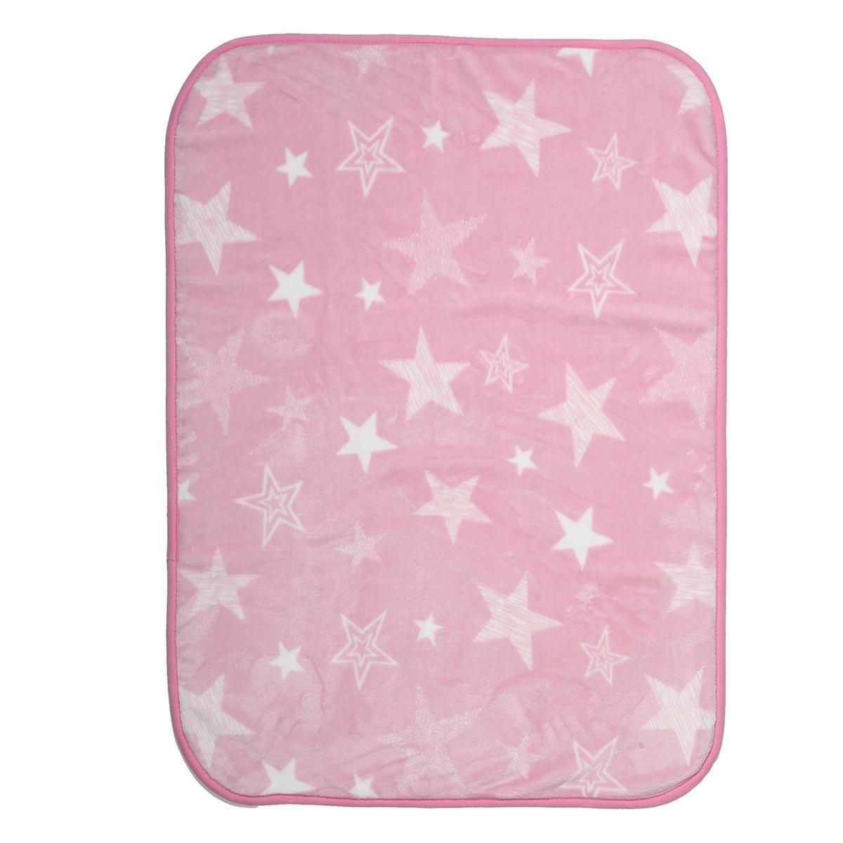 Κουβέρτα Βελουτέ Αγκαλιάς Nef-Nef Astro Pink