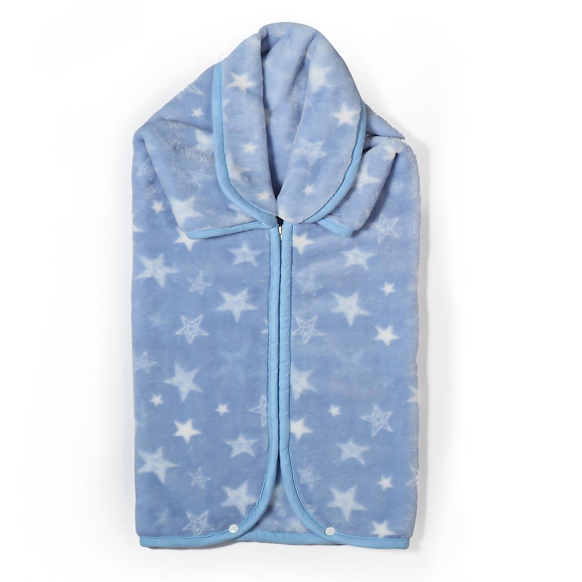 Υπνόσακος Κουβέρτα Βελουτέ Nef-Nef Astro Blue