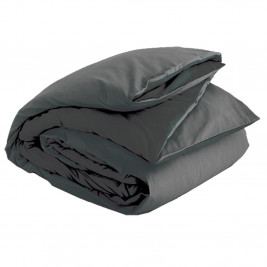 Παπλωματοθήκη King Size Nef-Nef Basic Dark Grey