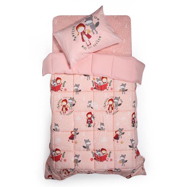 Πάπλωμα Μονό Nef-Nef Red Riding Hood