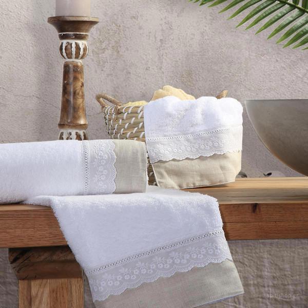Πετσέτες Μπάνιου (Σετ 3τμχ) Nef-Nef Charley