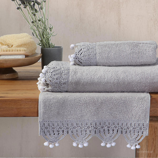 Πετσέτες Μπάνιου (Σετ 3τμχ) Nef-Nef Everly