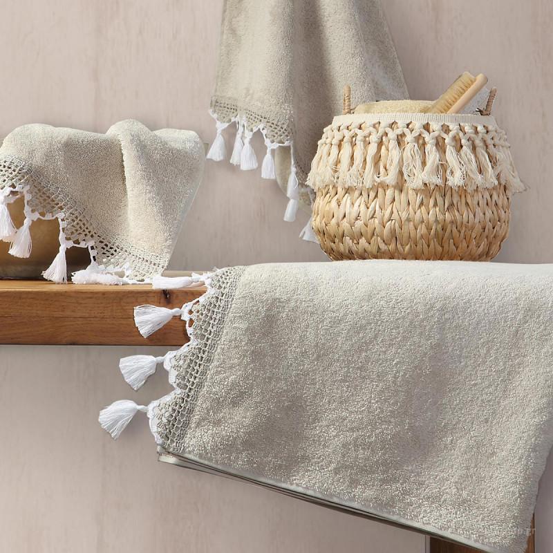 Πετσέτες Μπάνιου (Σετ 3τμχ) Nef-Nef Persey