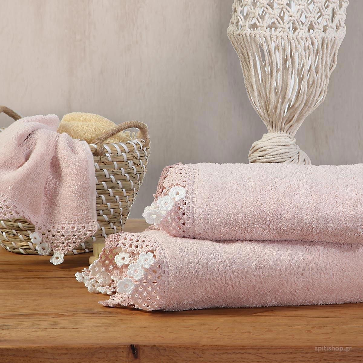Πετσέτες Μπάνιου (Σετ 3τμχ) Nef-Nef Emilie