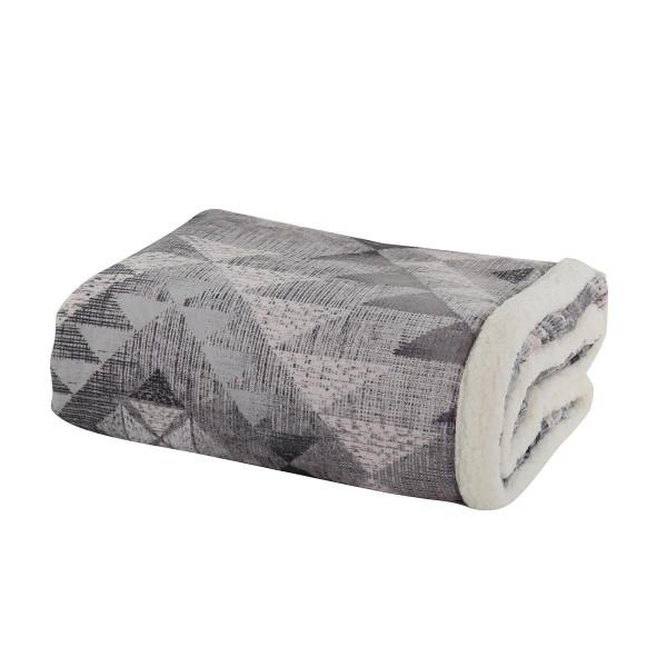 Κουβέρτα Καναπέ Nef-Nef Maya Winter Grey